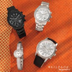 WATCH ME NOW: Stay on track; stay stylish! #Silpada #watches
