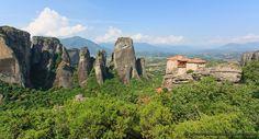 Le Meteore: incredibili formazioni rocciose in Grecia - http://www.fabionodariphoto.com/wrp/le-meteore-grecia/