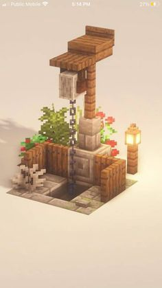 Plantas Do Minecraft, Minecraft Farm, Minecraft Mansion, Minecraft Cottage, Easy Minecraft Houses, Minecraft House Tutorials, Minecraft Medieval, Minecraft Plans, Minecraft House Designs