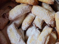 Kiffles or kipferl. Austrian or Hungarian recipe. My grandmother from Serbia made these cookies every Yuletide Kiffles or kipferl. Austrian or Hungarian recipe. My grandmother from Serbia made these cookies every Yuletide Austrian Desserts, Austrian Recipes, Croatian Recipes, Hungarian Recipes, Austrian Food, Hungarian Cuisine, Cookie Desserts, Cookie Recipes, Dessert Recipes