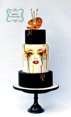 Cuties Street Art Cake Collaboration by Lori Mahoney (Lori's Custom Cakes)