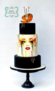Cuties Street Art Cake Collaboration by Lori Mahoney (Lori's Custom Cakes)