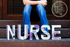 I like this one but with the college she is going to for the word <3