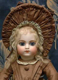 "Cherubic 14"" Francois Gaultier F G Block Bebe Size 2/0 Antique French Doll WOW!"