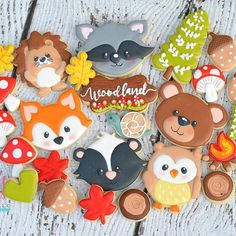 Camping and Woodland theme cookie cuter up tomorrowin my shoppe. Clipart by me, cutestiness and pixelpaperprints. #customcookiecutters #woodlandcookies #woodlandcookiecutters #campingcookies