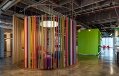 The Gentera Innovation Lab located inside its corporate offices in Mexico City - CAANdesign