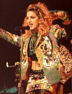 Madonna - Virgin Tour live at Chicago (1985)