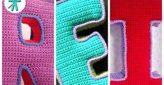 © AmigurumisFanClub Como pasa el tiempo!!! Hace ya más de dos años que diseñamos estas letras 3D y seguimos recibiendo correos ...