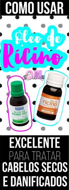 Como usar óleo de rícino no cabelo - umectação noturna - hot oil treatment…