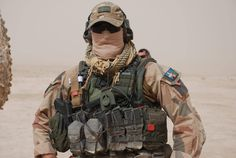 Swedish Ranger in Afghanistan