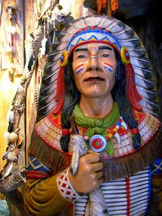 The Trading Post's Cigar Store Indian
