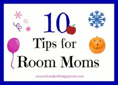 Top 10 Tips for Room Moms