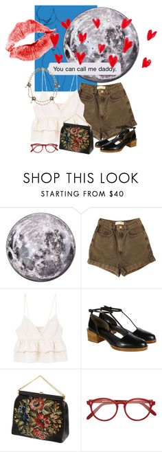 """""""Untitled #679"""" by annagasztold ❤ liked on Polyvore featuring Seletti, Prada, American Apparel, MANGO, 3.1 Phillip Lim, Cutler and Gross and Stephen Dweck"""