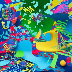 C A T K Abstract, 2d, Outdoor Decor, Colorful, Design, Home Decor, Summary, Room Decor, Design Comics