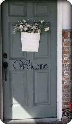 Welcome Sign for Front Door
