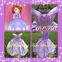Sofiia the First tutu dress Sofia the First dress Sofia the First costume Princess Tutu Dress