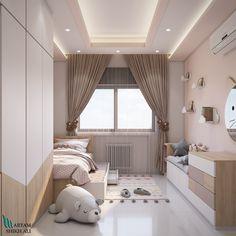 second suggestion for kids bedroom design on Behance Modern Kids Bedroom, Master Bedroom Interior, Kids Bedroom Designs, Kids Room Design, Design Bedroom, Small Space Interior Design, Baby Room Decor, Dream Rooms, House Rooms