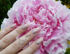 Bridal Nails Inspiration - Romantic Glitter Gradient Nail Art