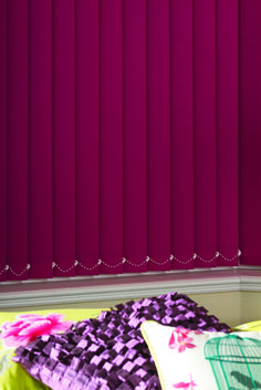 Vertical Drapes & Blinds by Inspired Window Coverings