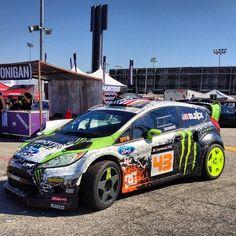 Ken Block's Ford Festiva rally car