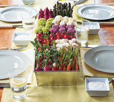 15 Times Crudité Was The Most Beautiful Thing On The Table