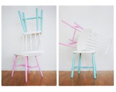 Dipped kitchen chairs