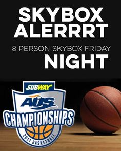 ICYMI You & 7 friends get my skybox  DOUBLE CONTEST ALERT because CIAU BASKETBALL IS BACK... . Friday evenings mens doubleheader: Friday March 3 Quarterfinal #1: Acadia (5) vs. Memorial (4) 6:30 p.m. Quarterfinal #2: StFX (6) vs. Saint Marys (3) 8:30 p.m. . You and 7 friends get my skybox!! . AFTERNOON AND EVENING DOUBLE HEADERS ARE HAPPEING & I'M GIVING AWAY SKYBOXES TO BOTH. . (this is always such a fun weekend) . OK. SO.  I've got a couple 8 person SKYBOXES to give away. . One for the…