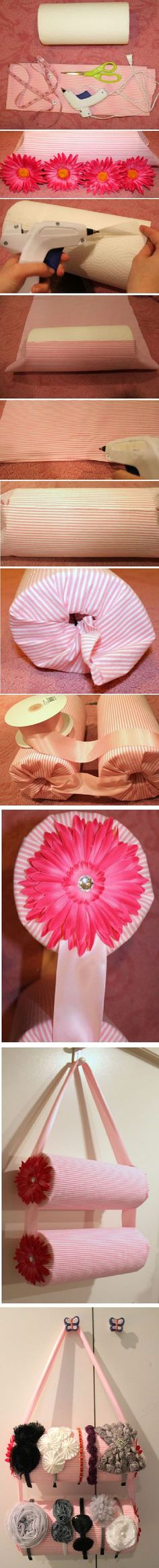 What a cute idea! I'd use the cheapest and worst papertowels I can find so I won't feel like I'm wasting them haha they are expensive!