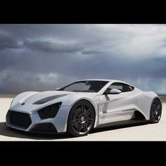This is one Mean Supercar - Zenvo ST1