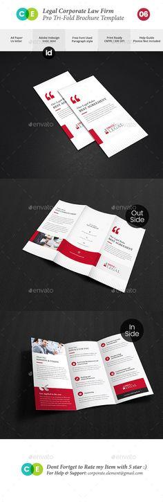 Digital Marketing \ Advertising Agency Brochure Digital - law firm brochure