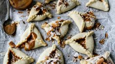 Dulce de leche hamantaschen: Rethinking a famed South American cookie for Purim - Jewish Telegraphic Agency American Cookie, Food Signs, Coconut Macaroons, Jewish Recipes, Popular Recipes, Nutella, Holiday Recipes, Hamantaschen, Dulce De Leche