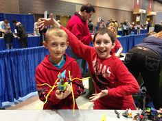 Boys will be boys at LEGO Hero Factory.