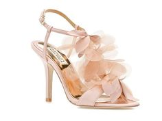 wedding day shoes, they come in black, white, pink, and beige