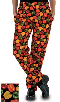 Women's+Chef+Pant+-+Pepper+Fusion+Print