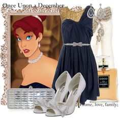 """Beautiful outfit based off of """"Anastasia"""". I personally think the dress is brilliant. Modern Outfits, Classy Outfits, Beautiful Outfits, Cute Outfits, Disney Anastasia, Anastasia Movie, Anastasia Cartoon, Disney Princess Fashion, Disney Style"""
