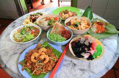 Malay hawker street food. Yum!