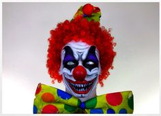 Step by step eye makeup - PICS. My collection | Scary clown makeup ...