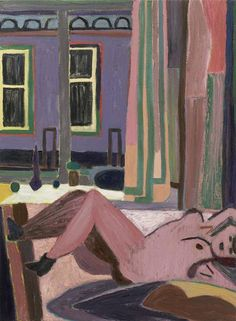 Tal R, Boots in Bed, oil on canvas, 52 x 38 inches (courtesy of the Cheim & Read) Figure Painting, Painting & Drawing, Artist Painting, Galleries In London, Historical Images, Contemporary Paintings, Painting Inspiration, Great Artists, Art Boards