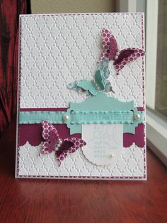 Stampin Up Projects | Pretty butterflies | Stampin Up Projects