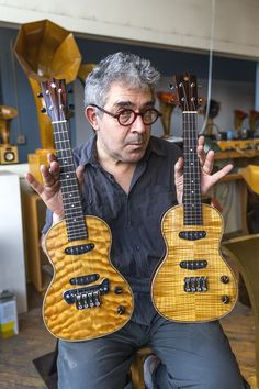 Specimen Custom Electric Ukuleles
