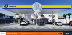 modelo de fachada posto de gasolina Vitória da Conquista BA
