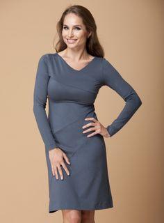 Asymmetric Milano Dress http://dd-atelier.com/Asymmetric-Milano-Dress-dress-for-women-with-big-bust.html