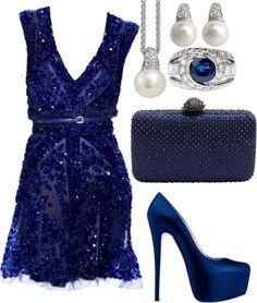 Elie Saab dress. Sophisticated.