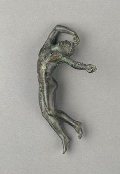 Statuette of a Dead Youth. 480 - 460 B.C. Statuette of a Dead Swordsman. Culture: Greek