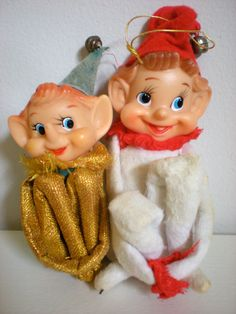 Pixie Elf Knee Huggers set of 2 Elf Pixie Christmas by chloeswirl