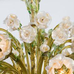 Rosa Murano Glass Chandelier - Shop Striulli Vetri d'Arte online at Artemest