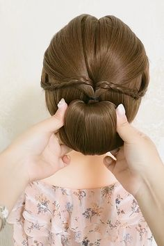 Easy Hairstyles For Thick Hair, Hair Tutorials For Medium Hair, Hairdo For Long Hair, Long Hair Video, Easy Hairstyles For Long Hair, Cute Hairstyles, Wedding Hairstyles, Hair Scarf Styles, Front Hair Styles