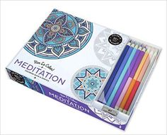 Vive Le Color! Meditation (Adult Coloring Book and Pencils): Color Therapy Kit: Abrams Noterie: 9781419722868: Amazon.com: Books