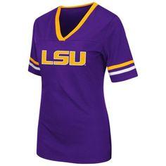LSU Tigers Colosseum Women's Aurora Short Sleeve T-Shirt - Purple