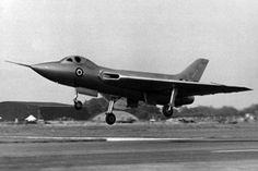 Avro 707C, WZ744.